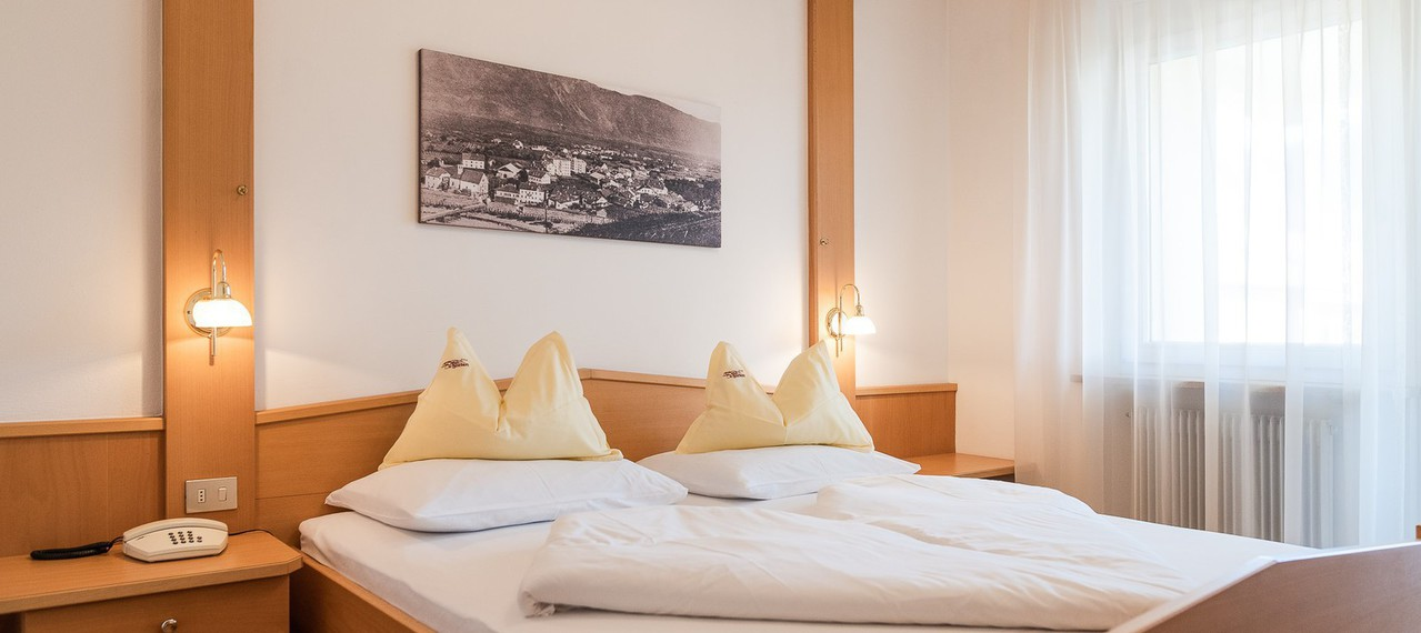 Double room in the Pension Weingarten in Lna,